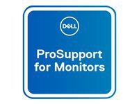 Dell Upgrade from 3Y Advanced Exchange to 3Y ProSupport for monitors - Extended service agreement - replacement - 3 years - shipment - response time: NBD - for Dell C5517H, P2715Q; UltraSharp U2717D, U2717DA, U2718Q, U3415W, U3417W, UP2716D