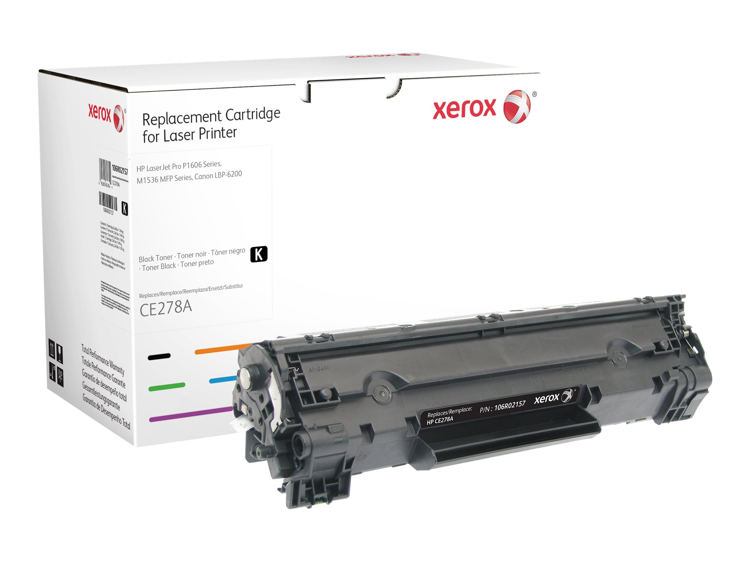 Xerox - black - original - toner cartridge (alternative for: HP 78A)