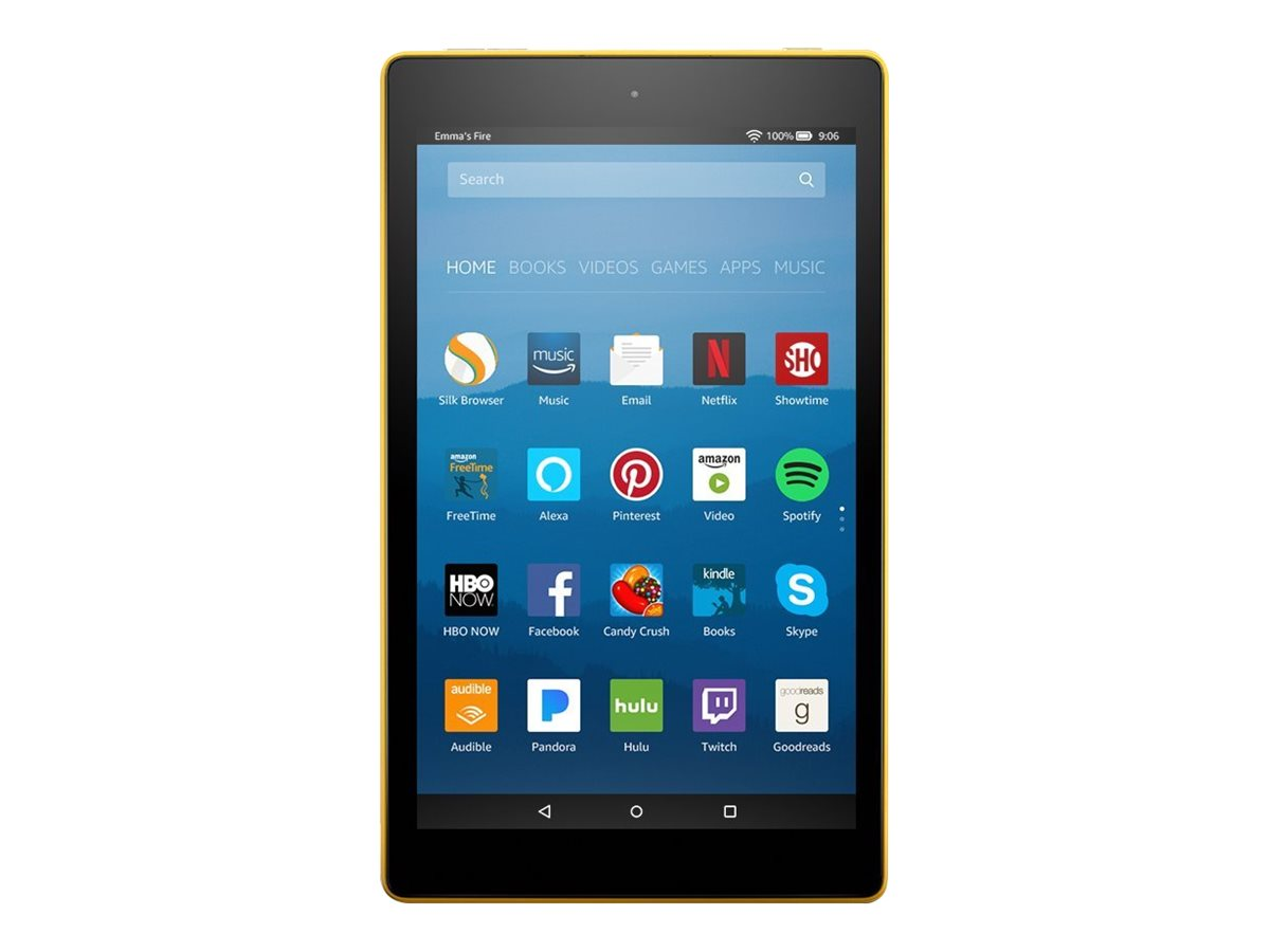 """Amazon Fire HD 8 - tablet - Fire OS - 16 GB - 8"""""""