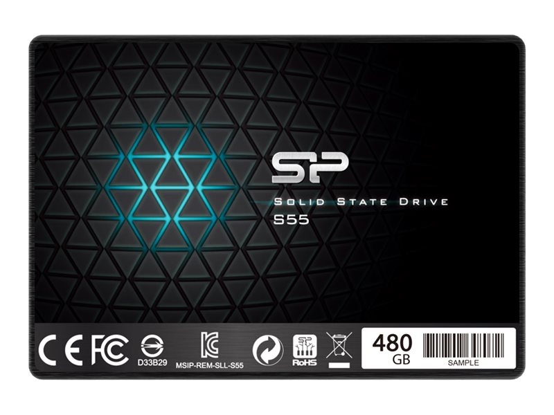 SILICON POWER Slim S55 - Solid-State-Disk - 480 GB - intern - 6.4 cm (2.5