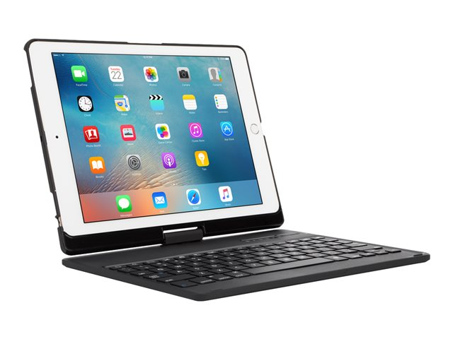 Targus VersaType - Keyboard and folio case - with power bank - backlit  - Ipad Air 2 And Air 1