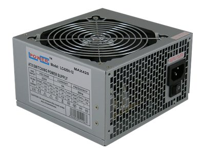LC Power Office Series LC420H-12 V1.3 - Stromversorgung (intern) - ATX12V 1.3 - 420 Watt - PFC