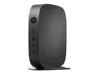 HP t530 Thin client tower 1 x GX-215JJ 1.5 GHz RAM 4 GB flash 32 GB Radeon R2E GigE