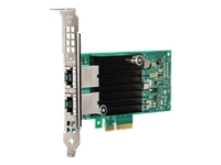 Intel X550 - Network adapter - PCIe low profile - 10Gb Ethernet x 2 - for PowerEdge C6320, FC830, M830, VRTX; PowerEdge C6420, R330, R430, R640, R740, R830, R930