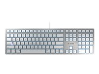 CHERRY Keyboard USB US key switch: CHERRY SX silver