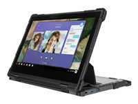 Lenovo - Notebook carrying case - black, transparent - for Lenovo Essentials Working Bundle; 300e Chromebook (2nd Gen) AST; 500e Chromebook (2nd Gen)