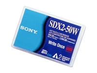 Sony SDX2-50W - AIT WORM 2 - 50 GB / 130 GB - for AIT e200, e390, i200, i390, Turbo Drive e200; AIT Library LIB 81, D81; SDX-500, 700
