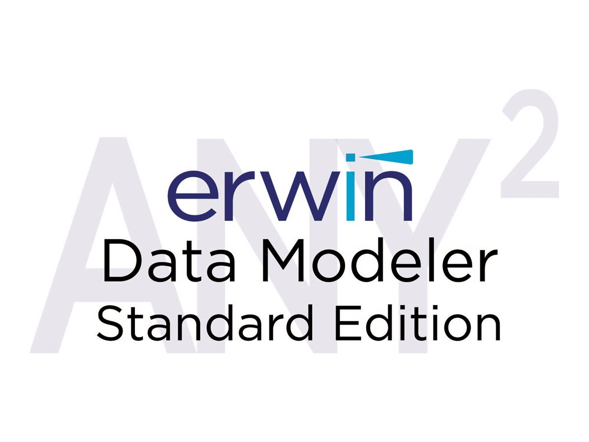 erwin Data Modeler Standard Edition (v. 9.7) - Competitive Replacement + 3 Years Enterprise Maintenance - 1 user