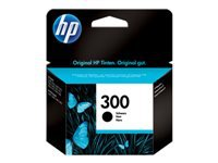 HP 300 - 4 ml - black - original - ink cartridge - for Deskjet D2680, F2420, F2430, F4213, F4580; Envy 100 D410, 11X D411, 120; Photosmart C4670