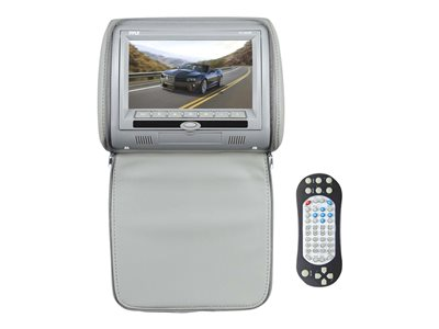PYLE PL73DGR DVD player with LCD monitor display 7 in headrest integrat