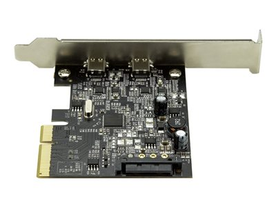 StarTech.com Replaced by PEXUSB312A3 - 2-Port USB PCIe Card - 10Gbps USB 3.1 Gen 2 Type-A PCI Express Host Controller Expansion Card (PEXUSB312C2)