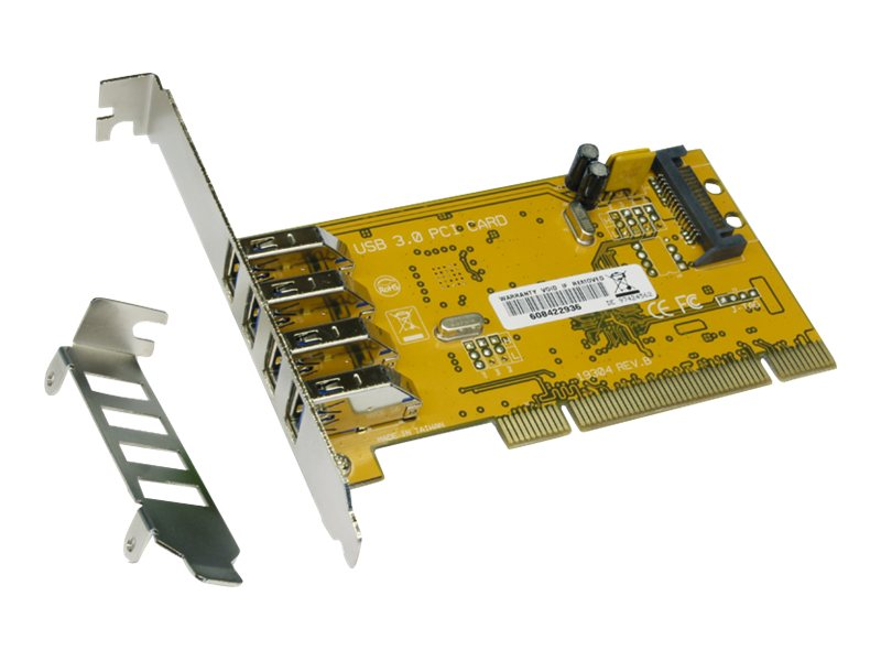 Exsys EX-1093 - USB-Adapter - PCI Low-Profile - USB 3.0 x 4