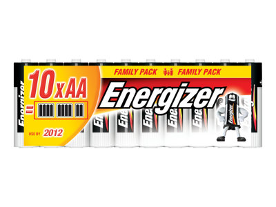 Piles & Chargeurs Energizer Family Pack - batterie - 16 x type AAA - Alcaline