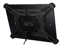 UAG Rugged Exoskeleton Universal Android Tablet Case with Stand and Pen Holder for 9 & 10-inch Tablets - Black - Case for tablet - black