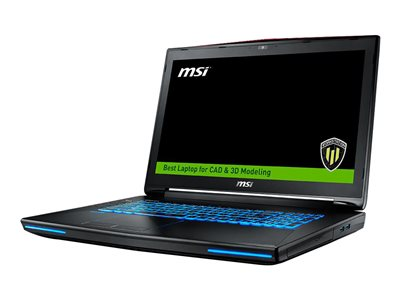 MSI WT72S 6QN 245US Core i7 6820HK / 2.7 GHz Win 10 Pro 16 GB RAM 256 GB SSD + 1 TB HDD