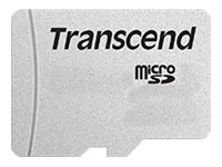Transcend 300S - flash memory card - 4 GB - microSDHC