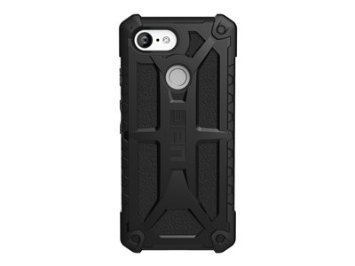 Rugged Case for Google Pixel 3 [5.5-inch screen] - Monarch Black
