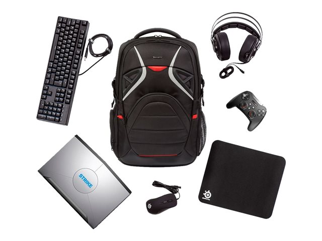 575c589204 Targus Strike Gaming Laptop Backpack - sac à dos pour ordinateur portable