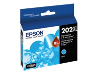 Epson 202XL With Sensor - High Capacity - cyan - original - ink cartridge - for Expression Home XP-5100; WorkForce WF-2860