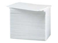 Zebra - Polyvinyl chloride (PVC) - white - CR-80 Card (85.6 x 54 mm) 500 pcs. cards