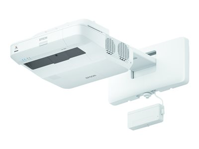 Epson BrightLink Pro 1460Ui Interactive - 3LCD projector - ultra short-throw - 802.11n wireless / LAN - with Epson motorized interactive table