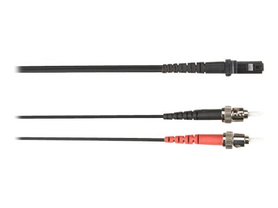 Black Box patch cable - 2 m - black