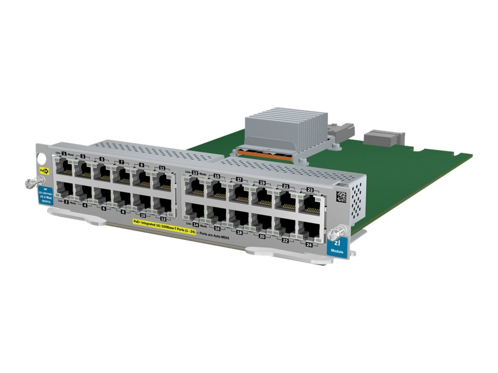 HPE - expansion module - 10/100 Ethernet x 24
