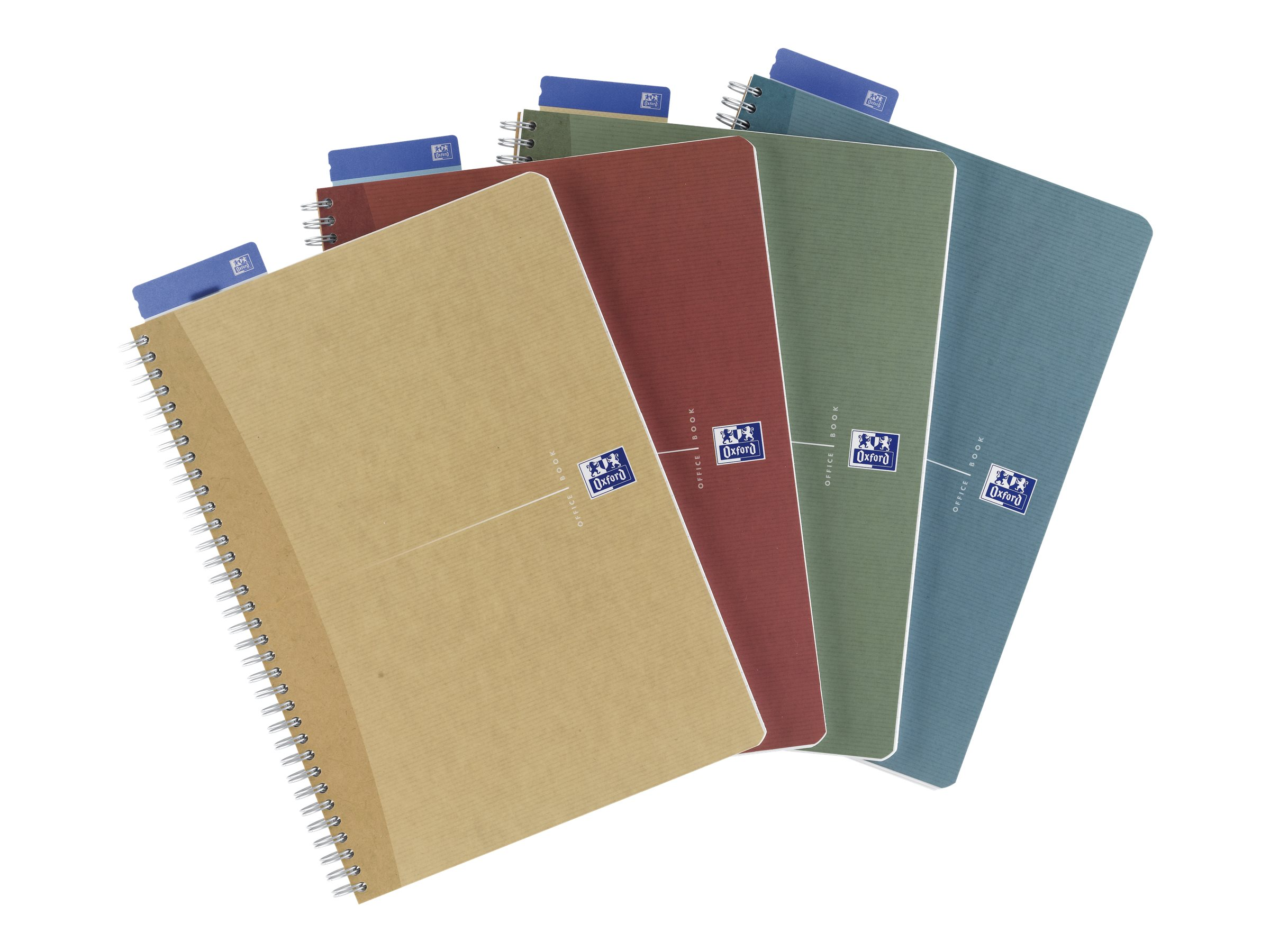 Oxford Office Recycled - A4 - Cahier - 21 x 29,7 - 180 pages - Petits carreaux