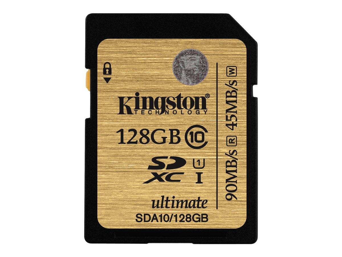 Kingston Ultimate - Flash-Speicherkarte - 128 GB - UHS Class 1 / Class10 - 300x - SDXC
