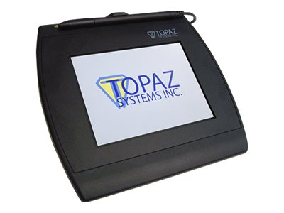 Topaz SigGem Color 5.7 Signature terminal w/ LCD display 4.6 x 3.4 in electromagnetic