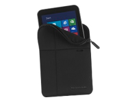 Toshiba - Protective sleeve for tablet - polyester, jersey - black - for Toshiba Encore WT8; Toshiba Encore 2 WT8