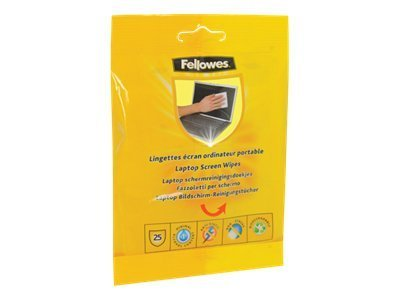 Fellowes Laptop Screen Cleaning Wipes