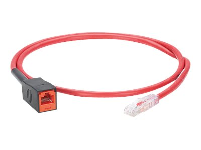 Panduit TX6A Plug Testing Cord - network cable - 1 m - red