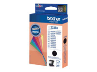 Brother LC223BK - Noir - originale - cartouche d'encre - pour Brother DCP-J4120, J562, MFC-J4625, J480, J680, J880; Business Smart MFC-J4420, J4620