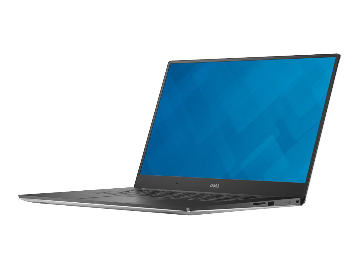 Dell Precision Mobile Workstation 5510 - Core i7 6820HQ / 2.7 GHz - Win 7 Pro 64-bit (mit Win 10 Pro 64-bit Lizenz) - 8 GB RAM - 500 GB HDD - 39.6 cm (15.6
