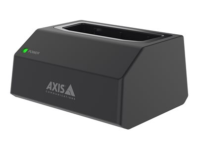 Axis W700 charge and sync station + AC power adapter - body camera connector - 9 Watt