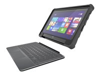 Gumdrop Hideaway Back cover for tablet rugged rubber black 10INCH