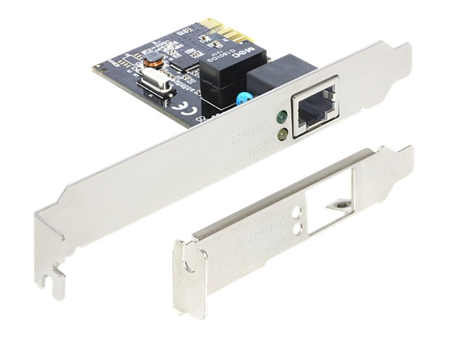 DeLOCK PCI Express Card > 1 x Gigabit LAN - Netzwerkadapter 89357