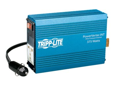 Image of Tripp Lite Ultra-Compact Car Inverter 375W 12V DC to 230V AC 1 Universal Outlet - DC to AC power inverter - 375 Watt