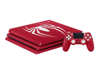 Sony PlayStation 4 Pro - Marvel's Spider-Man Limited Edition - game console - 4K - HDR - 1 TB HDD - amazing red - Marvel's Spider-Man