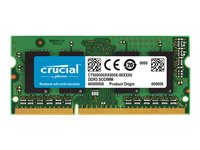 Crucial DDR3L  4GB 1600MHz CL11  Ikke-ECC SO-DIMM  204-PIN
