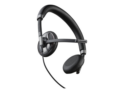 Plantronics Blackwire C725 Kabling Sølv Sort Headset