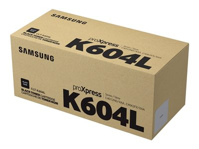 Samsung CLT-K604L Black original toner cartridge (SU215A)