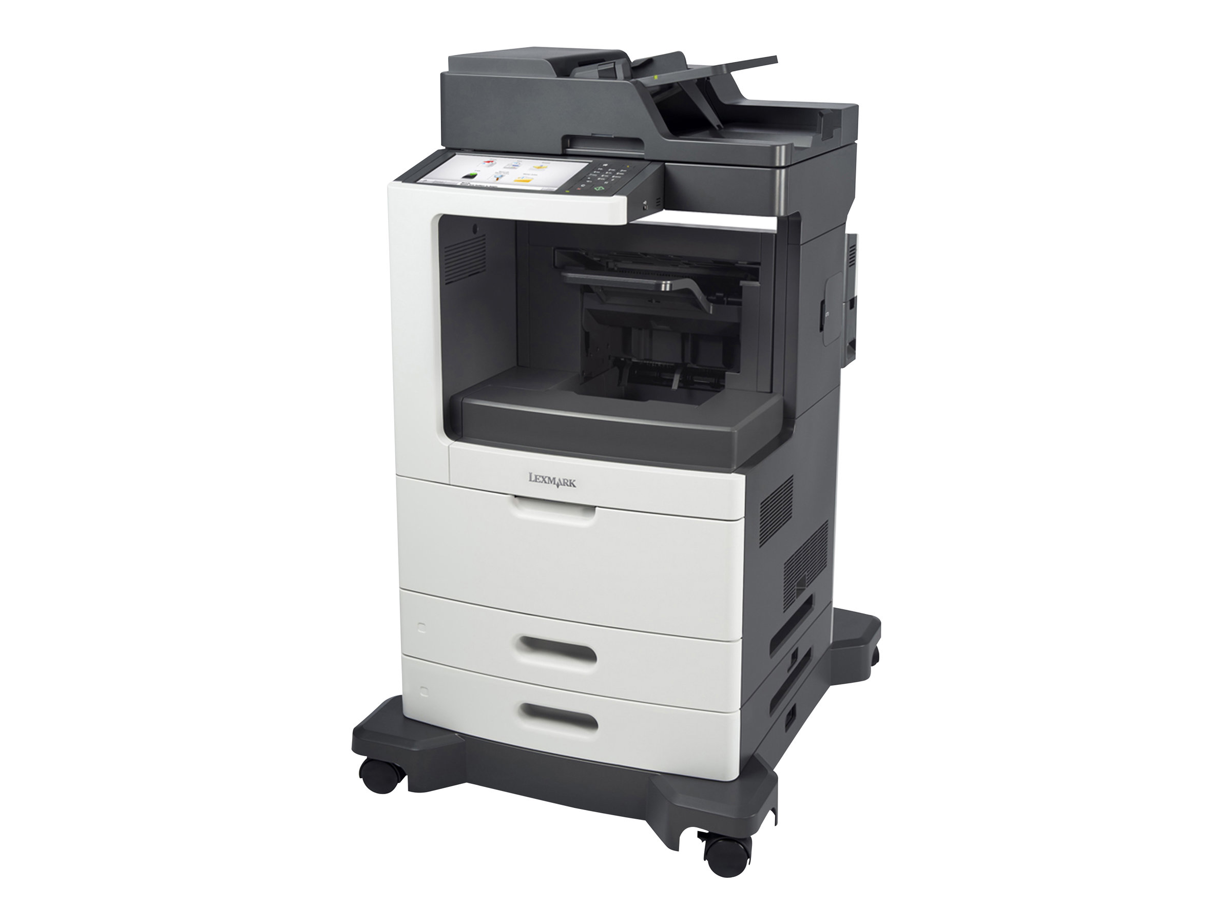 Lexmark MX810dfe - Multifunktionsdrucker - s/w - Laser - Legal (216 x 356 mm) (Original) - Legal (Medien)