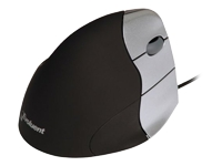 Evoluent VerticalMouse 3 Rev. 2 - Mouse - right-handed - optical - 5 buttons - wired - USB