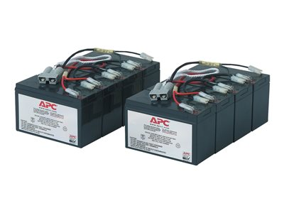 APC Replacement Battery Cartridge #12 UPS battery 2 x lead acid black