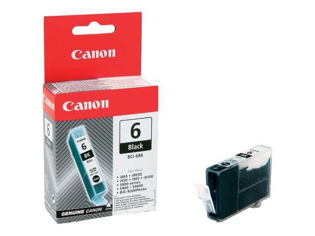 Image of Canon BCI-6BK - black - original - ink tank