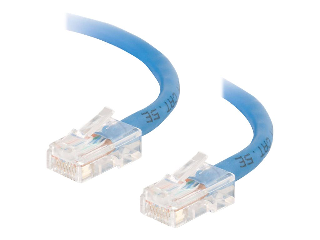 C2G Cat5e Non-Booted Unshielded (UTP) Network Patch Cable - Patch-Kabel - RJ-45 (M) bis RJ-45 (M) - 5 m - UTP - CAT 5e