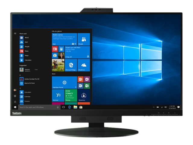 """Lenovo ThinkCentre Tiny-in-One 27 - LED-Monitor - 69 cm (27"""") (27"""" sichtbar) - 2560 x 1440 @ 60 Hz - 350 cd/m² - 1000:1"""