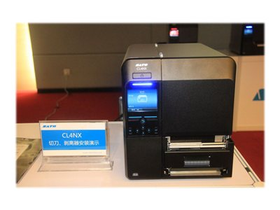 SATO CL 408NX Label printer DT/TT Roll (5 in) 203 dpi up to 600 inch/min